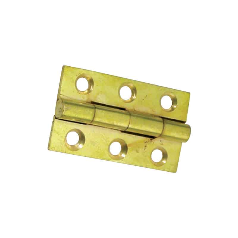Hinge Butt Brass 38X22mm Pr