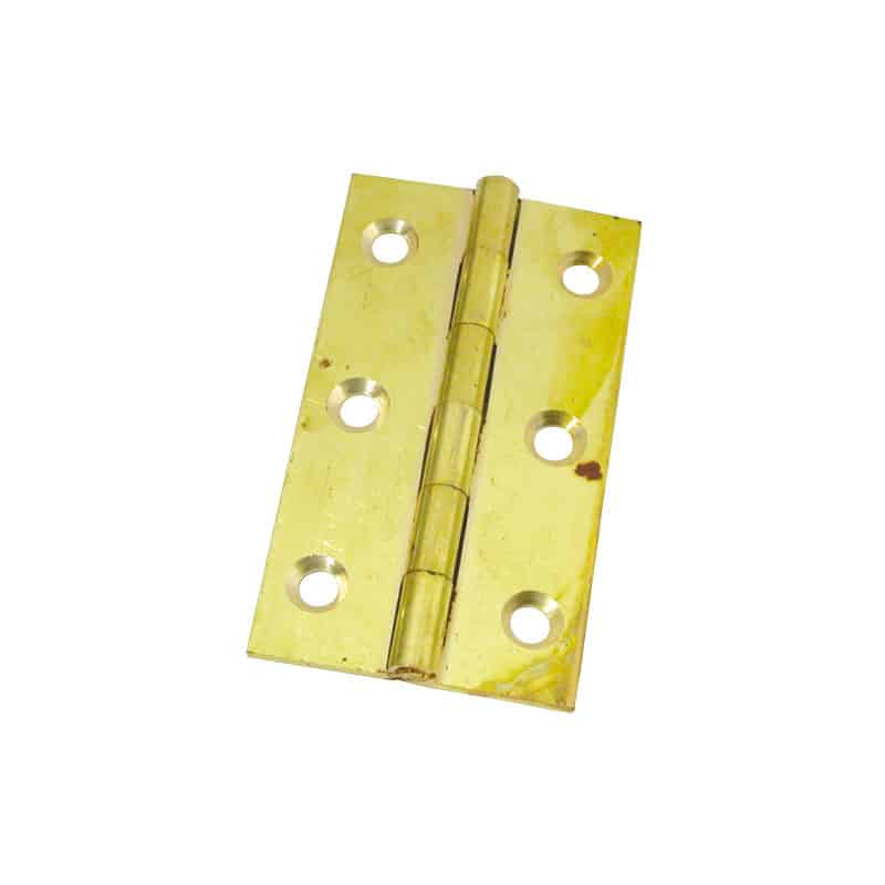 Hinge Butt Brass 63X35mm Pr