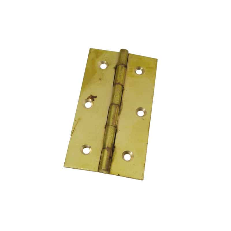 Hinge Butt Brass 76X41mm Pr