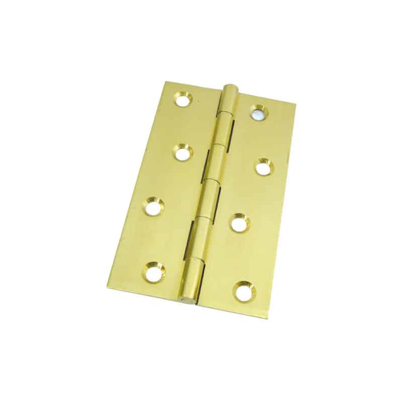 Hinge Butt Brass 101X60mm Pr