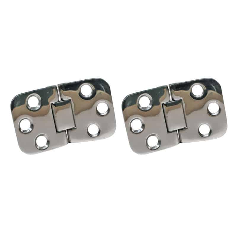 Hinge Dual Pivot Cast 316 S/S 71X41mm Pr