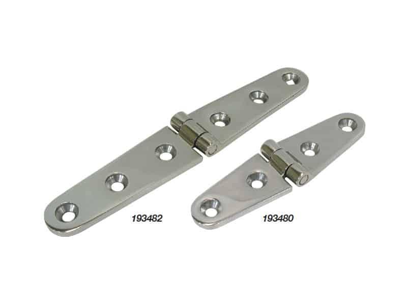 Hinge Strap Cast G316 S/S 104X26mm Pr
