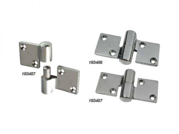 Hinge Separating S/S 90X52mm Left Hand