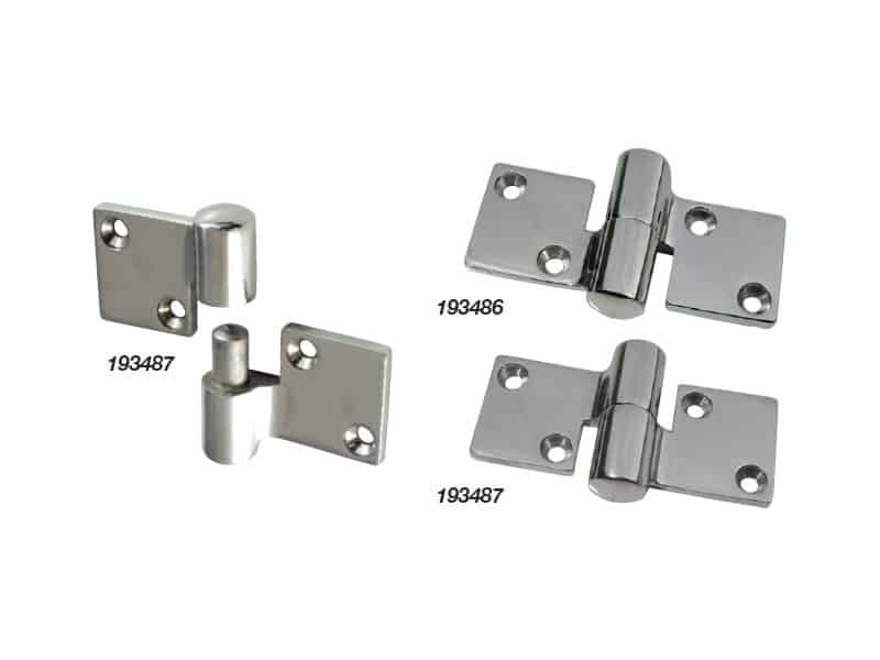 Hinge Separating S/S 90X52mm Left Hand