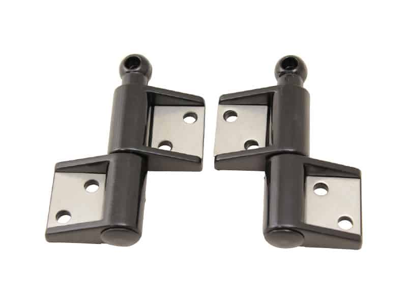 Hinge Separating Black Plastic 73X50mm Pr