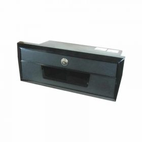 Glove Box Black Plastic 350X139mm