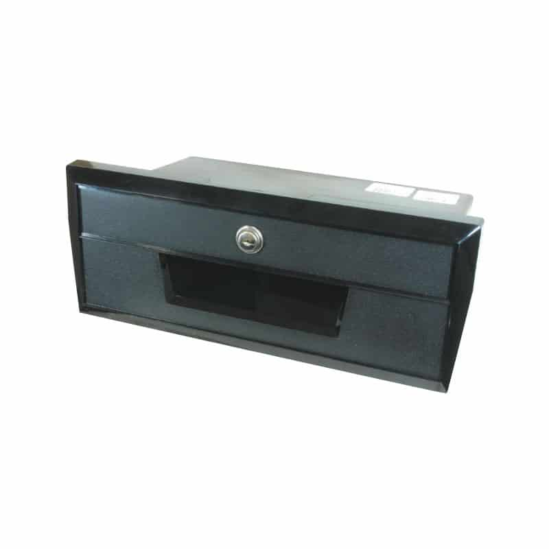 Glove Box Black Plastic 350X139mm
