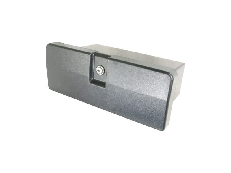 Glove Box Black Plastic 340X132mm