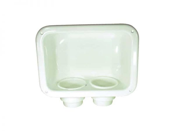 Drink Holder Recessed White Abs 310X230mm