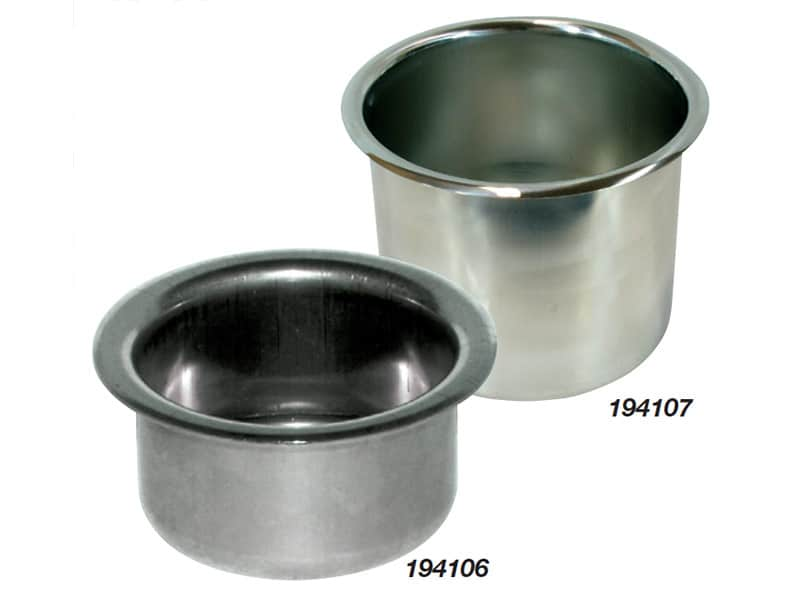 Drink Holder Recessed S/S 88mm Dia