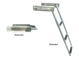 Ladder Retract Under Duckboard 3Step S/S