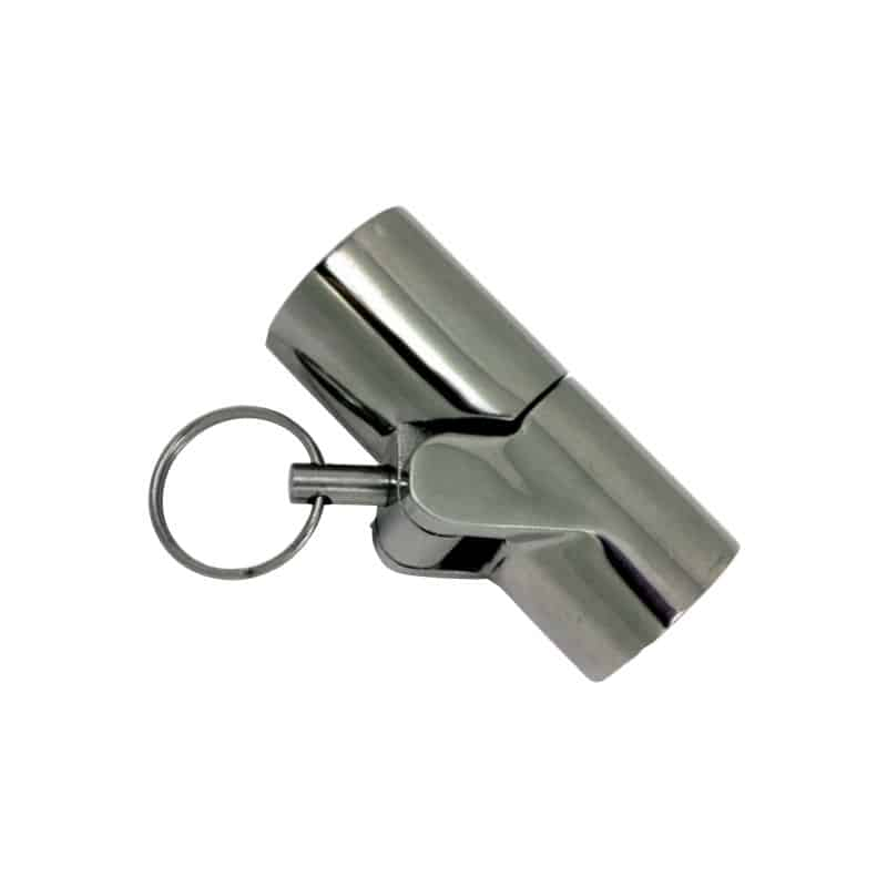 Canopy Tube Hinge S/S 25mm-1 With Pin