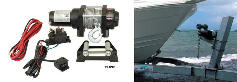 Winch Electric 2500Lb Power In/Out