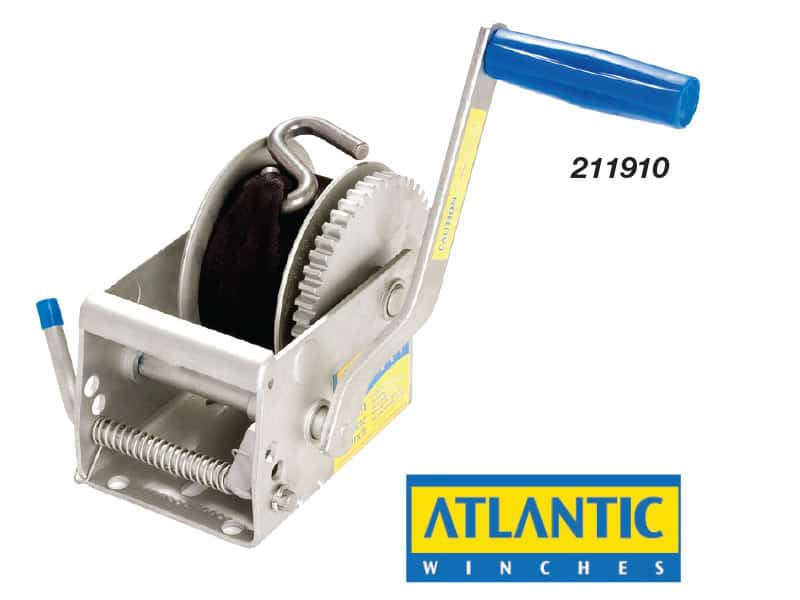 Winch Atlantic Trlr 3:1 No Cable