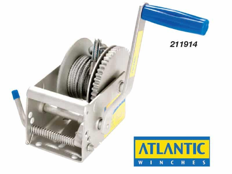 Winch Atlantic Trlr 5:1 No Cable
