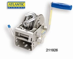 Winch Atlantic Trlr 10/5/1:1 6mm Cable