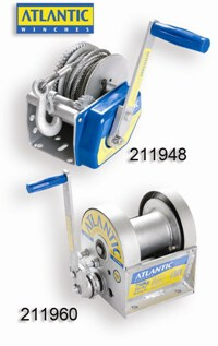 Winch Atlantic Self Braking 10:1 No Cbl