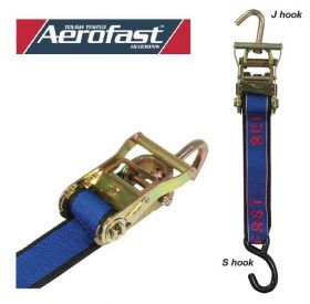 Tie Down Ratchet 50mmx6M Swivel Hook H/D