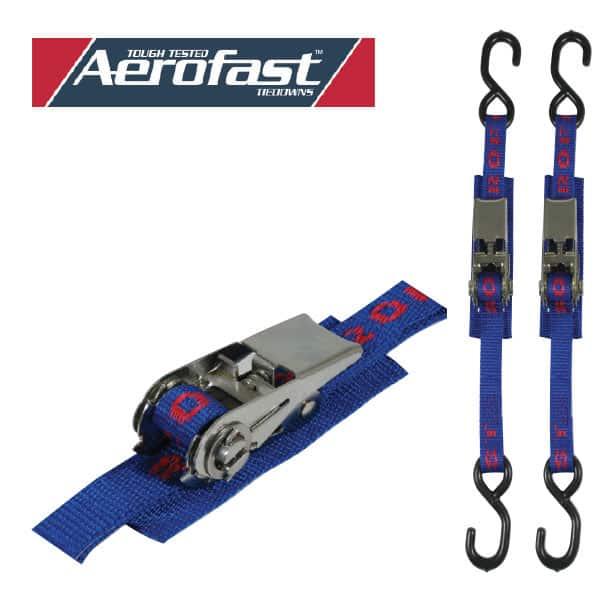 Tie Down Ratchet 25mmx1.5M H/D S/S Pr