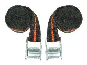 Tie Down Strap 25mm X 1.66M Pr