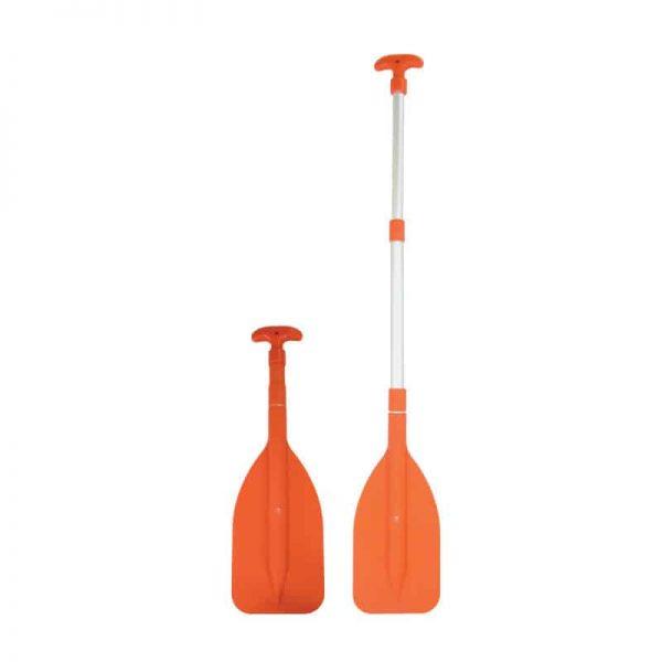 Paddle Single Tele 3 Pce Orange 1.07M
