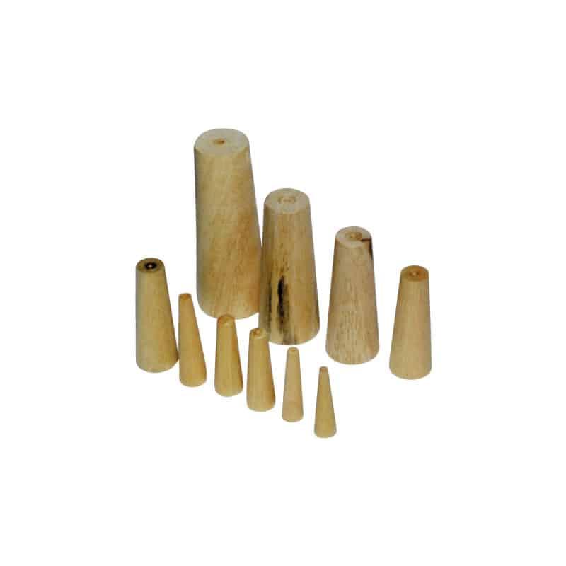 Bung Wooden Set Of 10 6-38mm