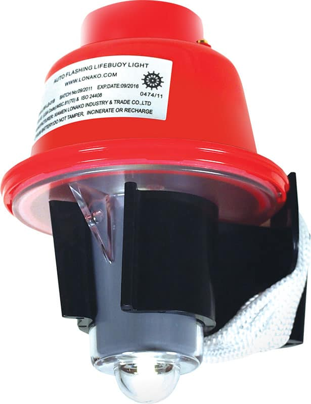 Lifebuoy Light Solas Flashng Incl Batery