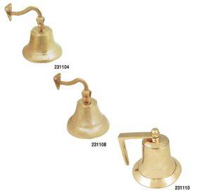 Bell Bronze Ships 100mm