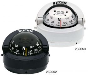 232053 Ritchie Compass - Explorer Surface Mount White S-53W