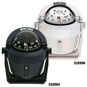 232056 Ritchie Compass - Explorer Bracket Mount White B-51W