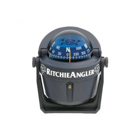 232074 Ritchie Compass - Angler Bracket Mount Grey Ra-91