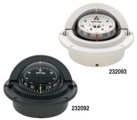 Compass Voyager Flush Mount Black F-83
