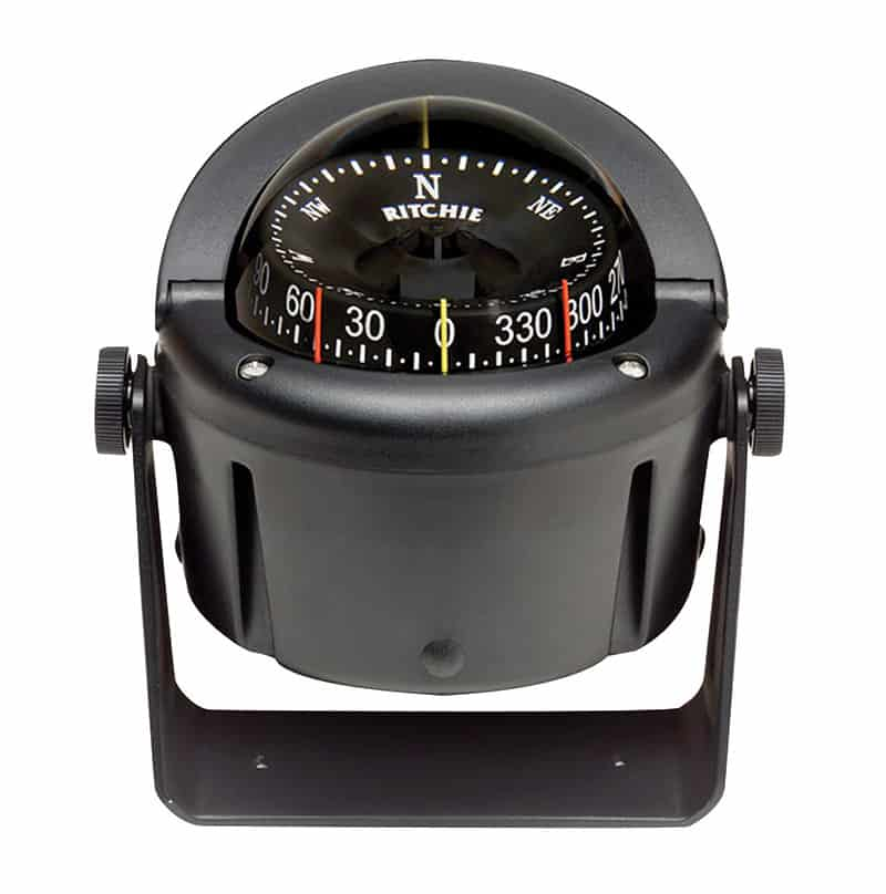 Compass Helmsman Bracket Mnt Black Hb-741