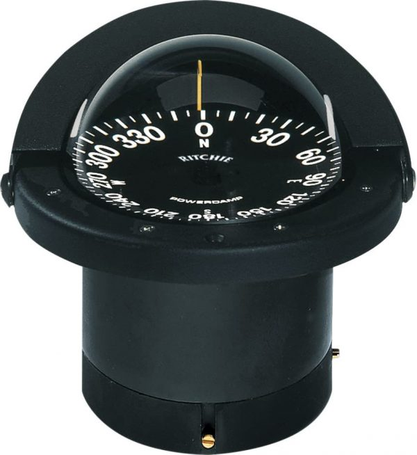 Compass Navigator Flush Mnt Black Fn-201