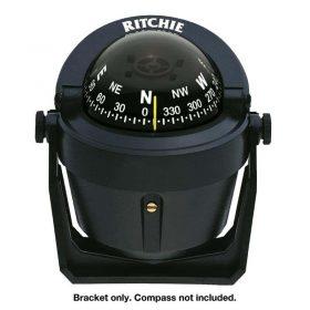 232482 Ritchie Compass - Explorer Bracket Mount Replacement black bracket
