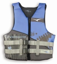 Pfd3 Wakemaster Neo Black/Blue Adult Large