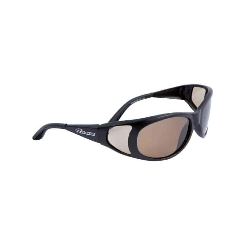 Sunglasses Straddie Black/Amber Pol
