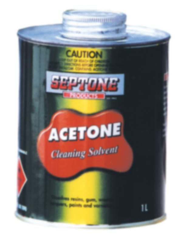 Acetone Cleaning Solvent 1L