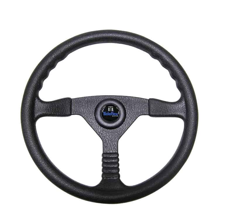 Wheel Champion Black Pvc 340mm Inc Med