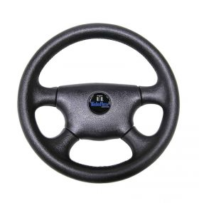 Wheel Legend Black Pvc 340mm Inc Med