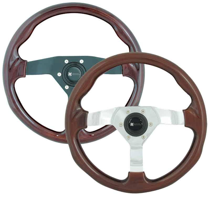 Wheel Portocino Mahogany/Black Incl Med