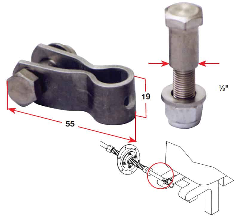 Kit Clevis Std Short
