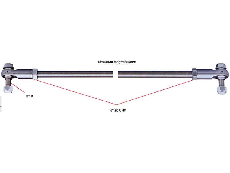 Kit Tie Bar S/Steel
