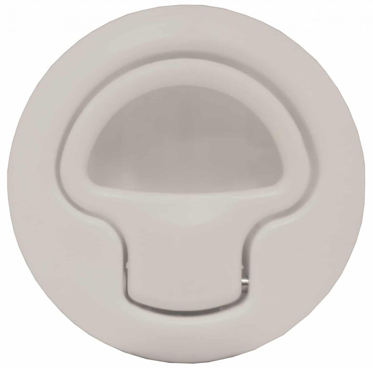 Flush Slam Latch White