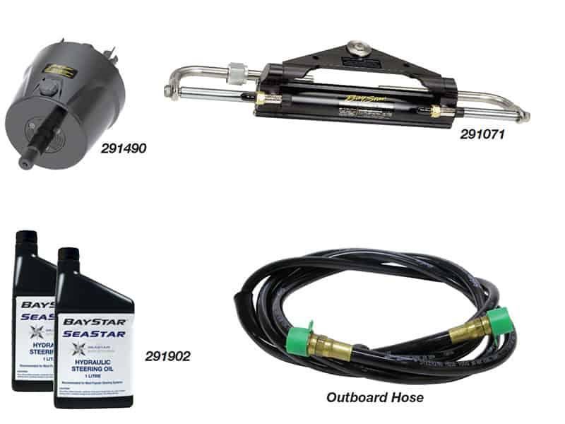 Steering Kit Baystar Compact O/B 10Ft