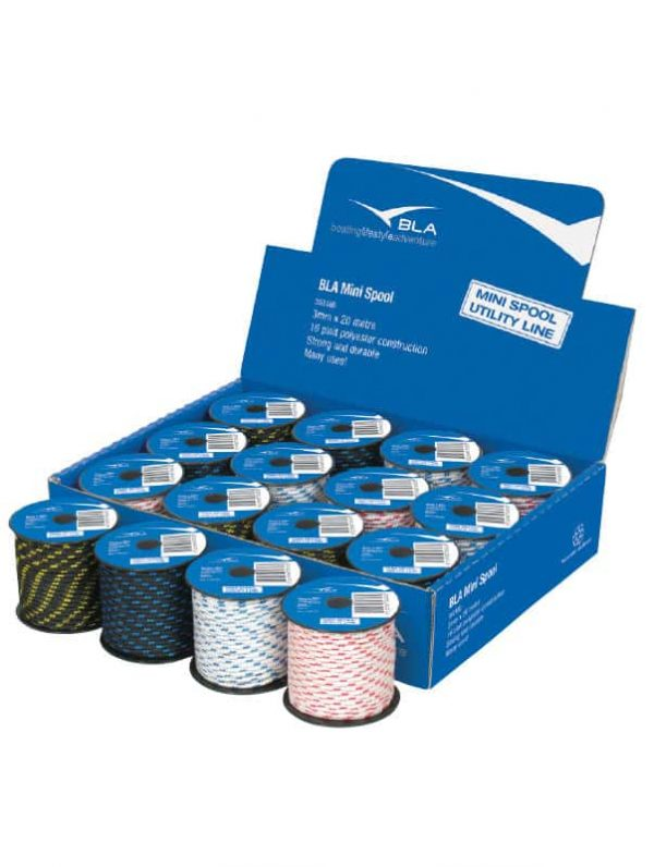 Cord 16 Plt Display Pack Of 12 X3mmx20M#