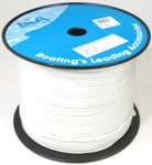 Rope 8 Plait Polyester Nat 4mmx500M