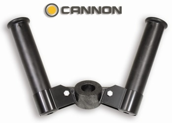 Rod Holder Dual Front Mount Cannon
