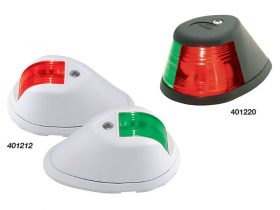 Lights Nav Side Mnt P/S Black