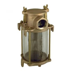 Strainer Water Bronze 1 Npt